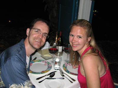 Anguilla Dinner at Blanchards