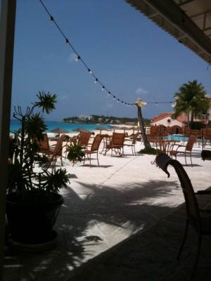 Anguilla Lunch at Straw Hat