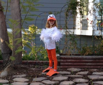 Easy to Make Duck Costume for Kids - Kristibug