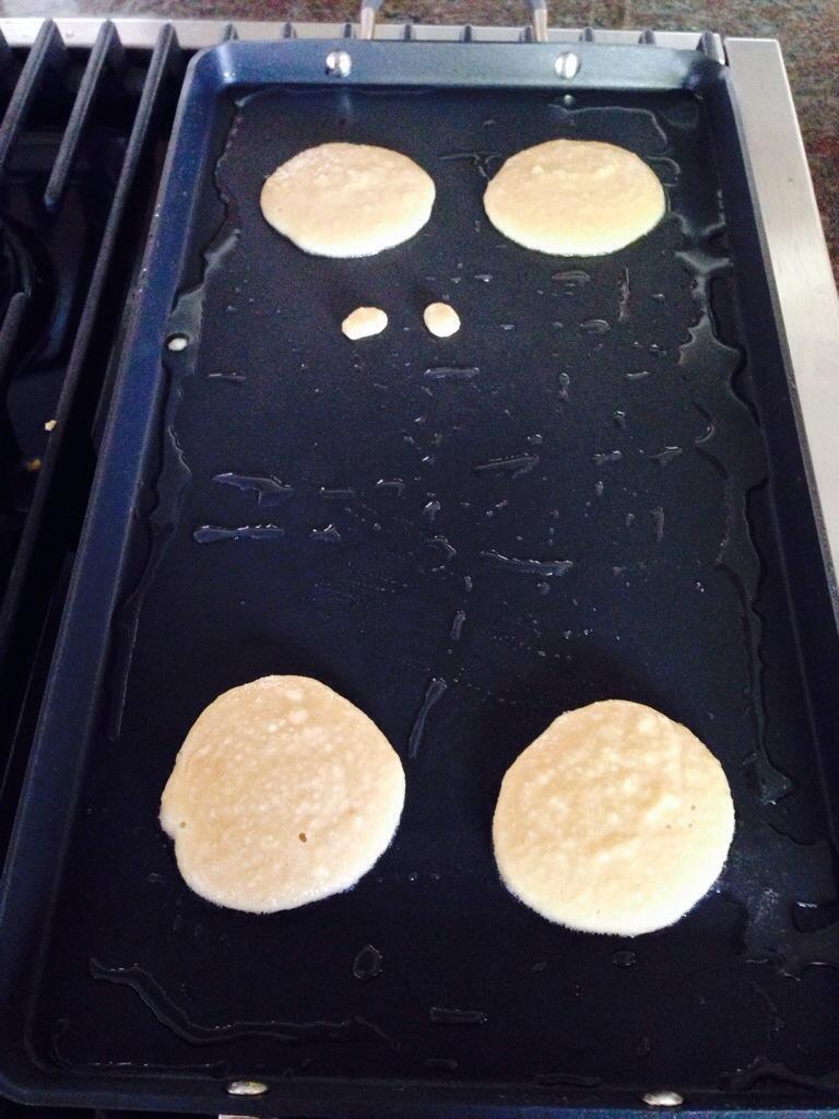 Almond Flour Pancake Batter