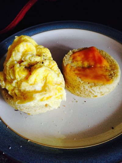 Almond Flour Egg McMuffin - SCD Style