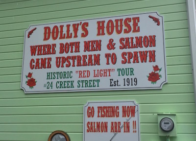 Dolly's House in Ketchikan